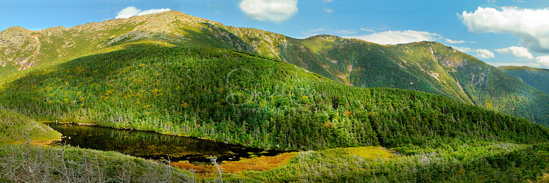 Franconia Ridge and Eagles Lake