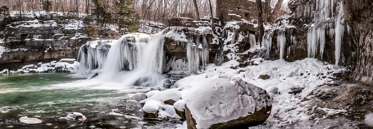 Cataract Falls State Recreation Area - Upper Falls