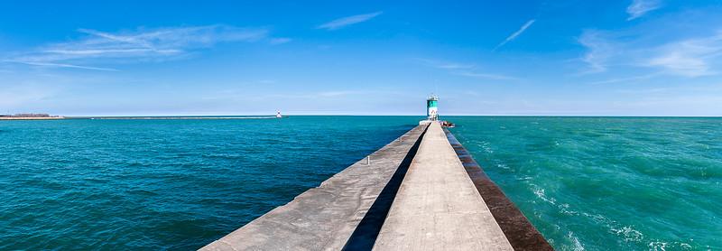 Waukegan Harbor Lighthouse - Illinois