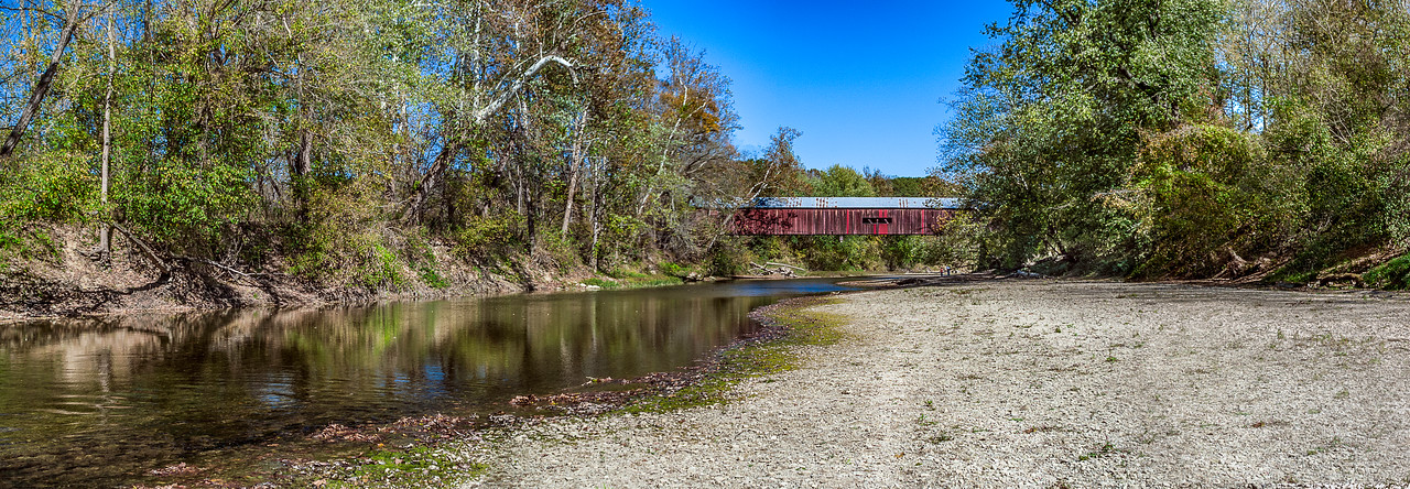 Cox Ford Covered Bridge -  Turkey Run State Park