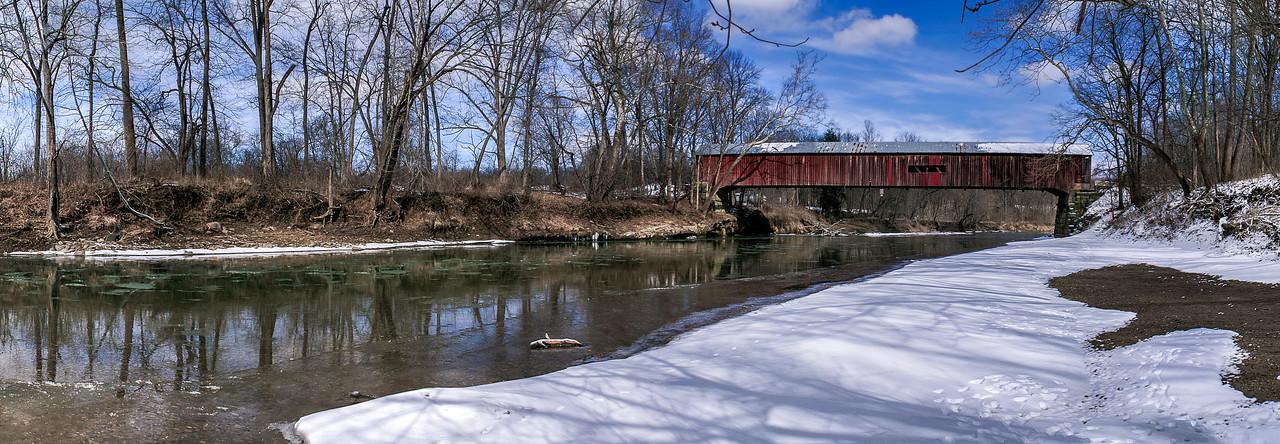 Cox Ford Bridge -  Turkey Run State Park - Marshall, Indiana