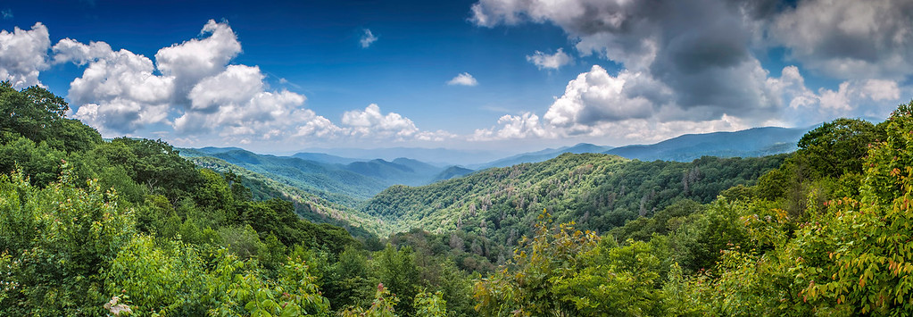 Newfound Gap - The Great Smoky Mountains National Park