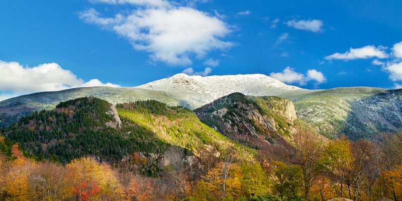 First Snow of Season on Franconia Ridge
