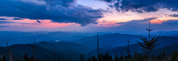 Clingman's Dome Sunset -  The Great Smoky Mountains National Park