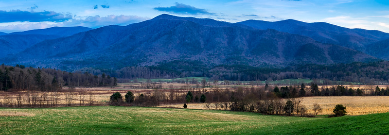 Cades Cove - The Great Smoky Mountains National Park