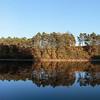 Tronçais, étang de Saloup, panoramique 7 images, f/7, 1/1200, iso 200, 40 mm
