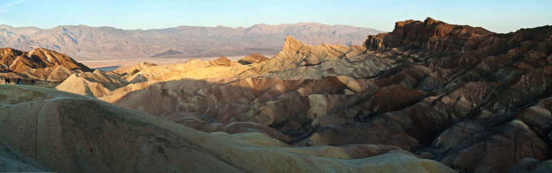 Zabriskie Point, Furnace Creek Death Valley, CA