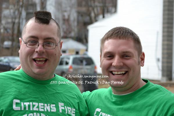 2011 Girardville St. Patrick's Day Parade