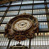 Great clock in d'Orsay museum