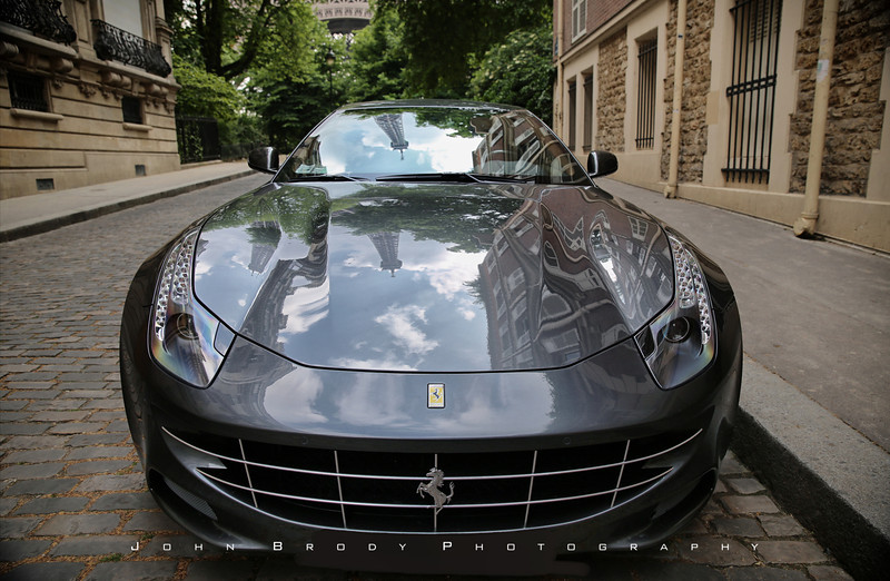 If I could only remember where I shot the Ferrari... If I only had a hint.....