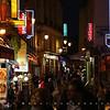 Popular nightspot on Rue de la Huchette near Saint-Michel