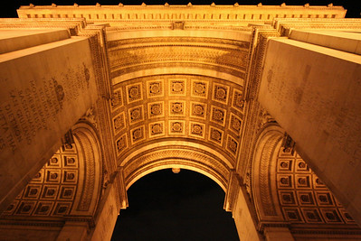 Arc de Triomphe interior
