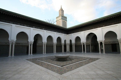 Courtyard, Paris Mosque
