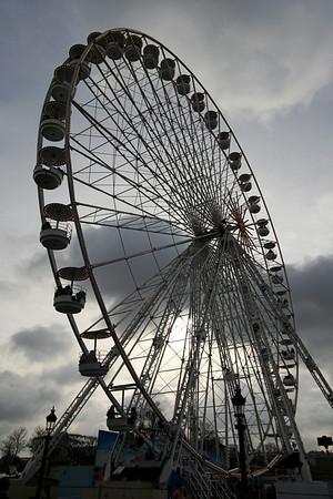 Ferris wheel, Place de la Concorde
