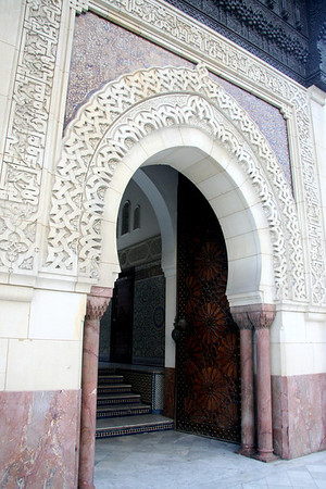 Inner entryway, Paris Mosque