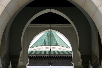 Arches, Paris Mosque