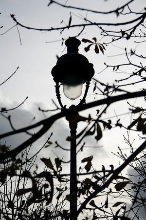 Lamp, Jardin des Tuileries