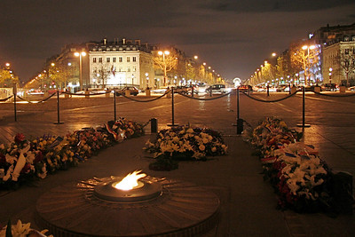 Champs-Élysées from Tomb of the Unknown Soldier
