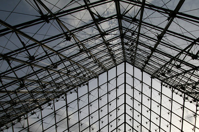 Louvre Pyramid interior