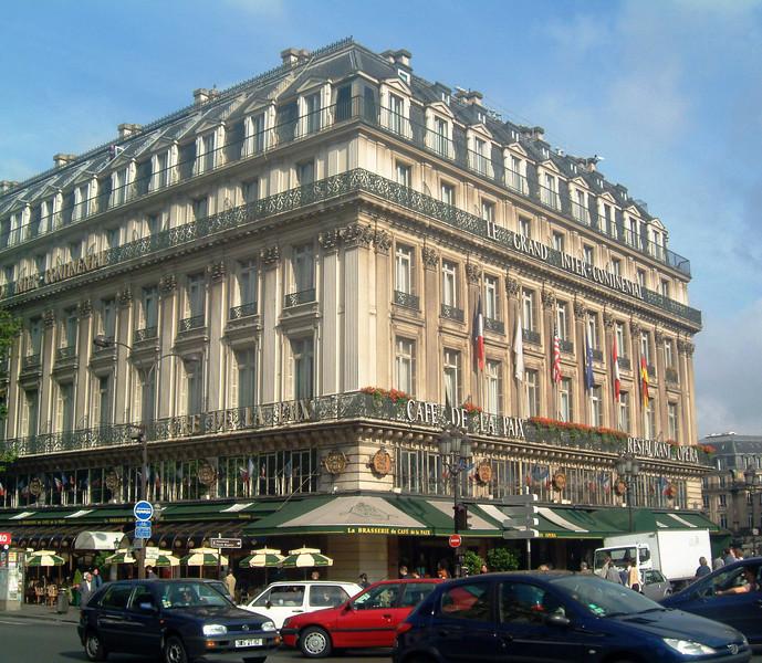 Cafe de la Paix in Paris