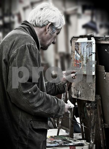 L'artiste Montmartre