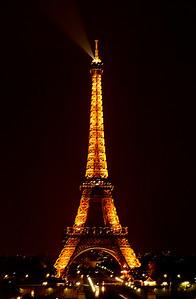 Eiffel Tower, Night