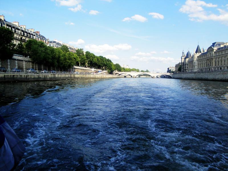 Seine River in Paris France