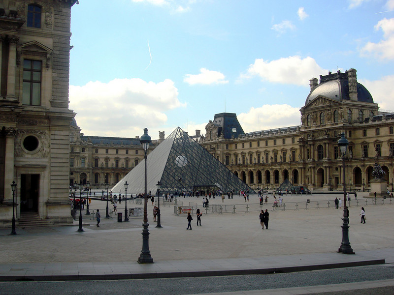The Louvre in Paris France