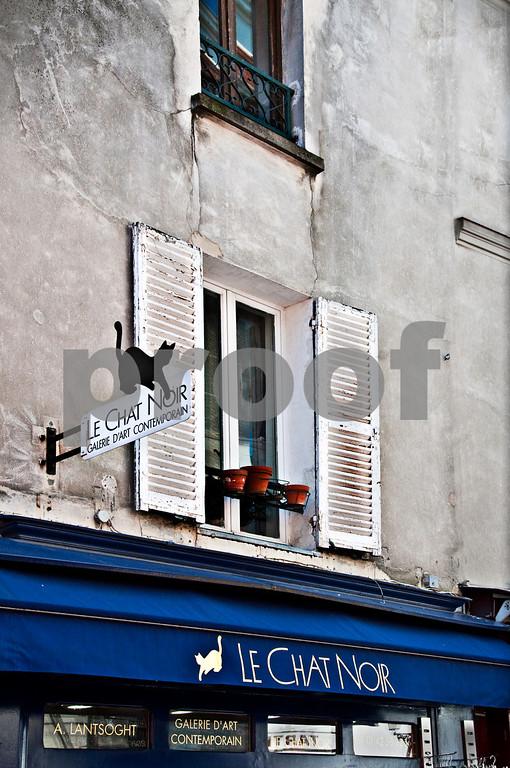 Le Chat Noir, Montmartre