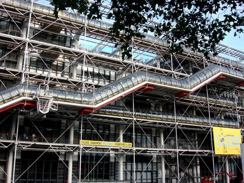 Pompidou Museum in Paris France 2