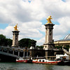 Pont Alexandre Bridge in Paris France