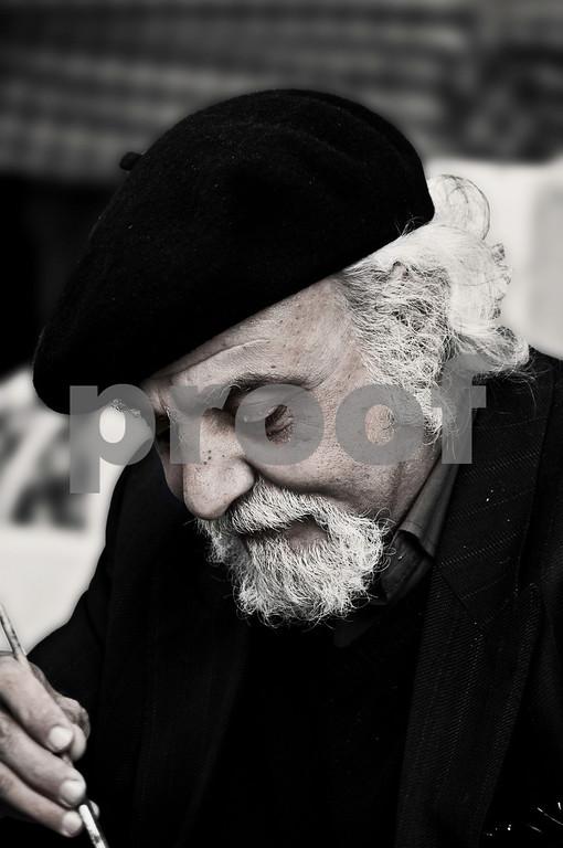Monsieur l'artiste, Montmartre
