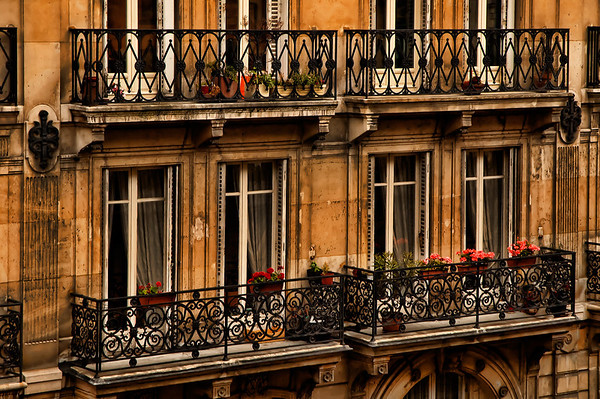 Left Bank Balconies
