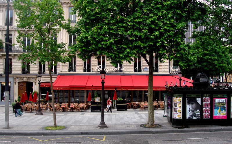 Fouquet's Restaurant in Paris France
