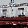 La Mere Catherine Restaurant at Montmartre in Paris