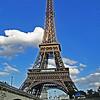 Paris Eiffel Tower June 2009