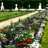 Gardens at Versailles near Paris France