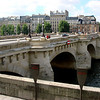 Pont Neuf Bridge in Paris from Left Bank