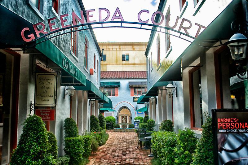 "WPP1308  ""Greeneda Court Entrance"""