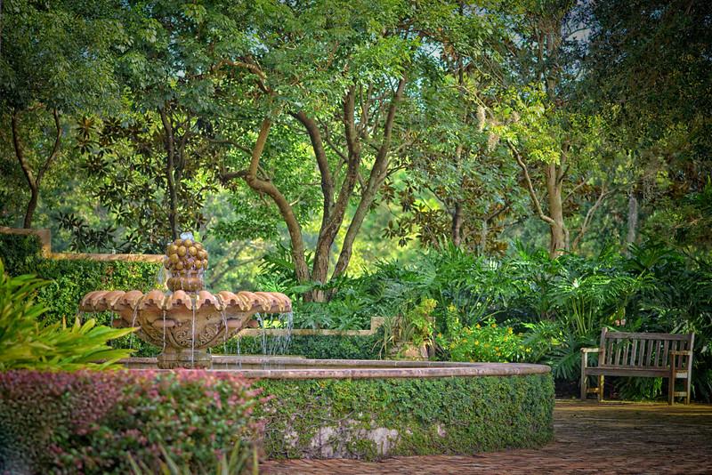 """WPP2089   """"McKean Arboretum Fountain"""""""