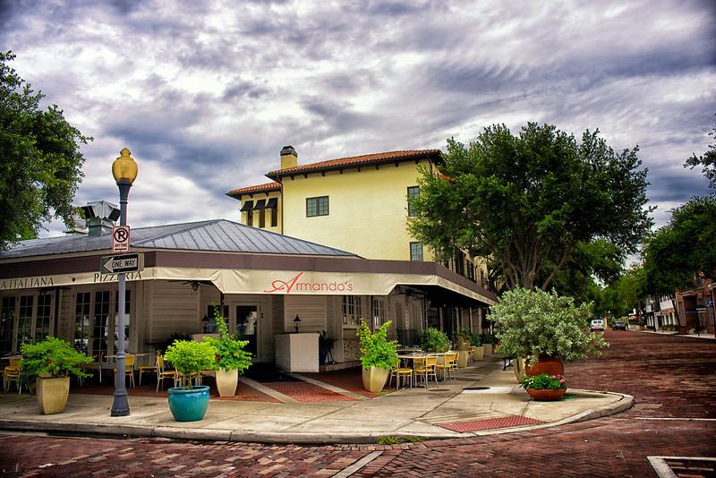 """WPP1327  """"Armando's in Hannibal Square"""""""