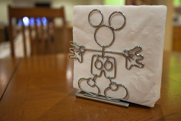 Mickey napkin holder