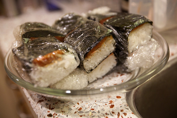 Tobasco SPAM Musubi
