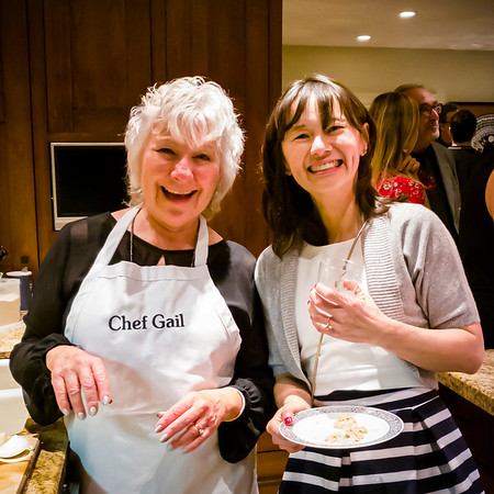 Gail has invited us to her house for a latke party
