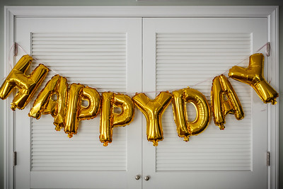 """""""Happy Day"""" fits perfectly!  (Valerie couldn't have fit """"Happy Birthday"""" here even if the """"B"""" could have been inflated)"""