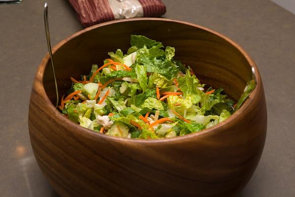 ...Chinese chicken salad...