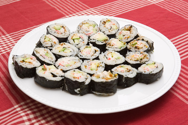 ...California rolls, and more appetizing delights!