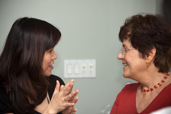 Trang and my mom