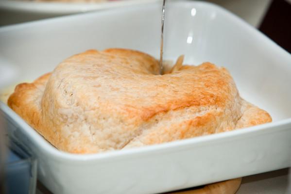 Valerie's brie en croute is one of my favorite appetizers