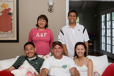 Gary, Linda, Cody, Eric, Valerie (photo by Rowena)